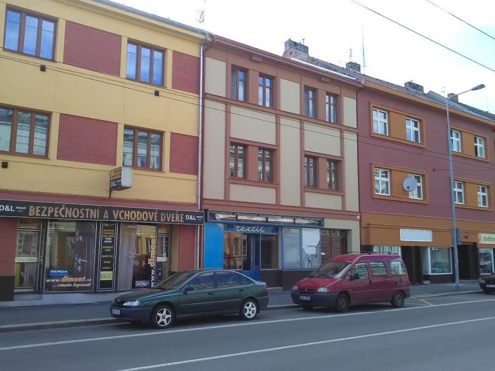 Fasáda činžovní domy Pardubice